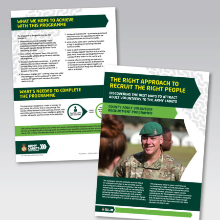 Army Cadets volunteer recruitment handbook